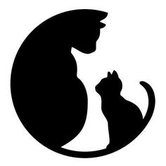 Alley Cat Allies is the nation's leading cat advocacy organization. Improving the lives of all cats and kittens. Learn how to help stray and feral cats. Alley Cat Allies, Cat Quilt, Cat Silhouette, Silhouette Portrait, Cat Logo, Scroll Saw Patterns, Cat Crafts, Halloween Crafts, Cat Tattoo