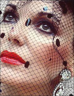 Joan Collins ~ by Helmut Newton