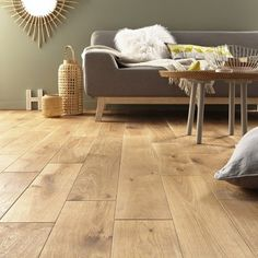 parquet_massif_chene_blond_huile_xl_artens_solid - home/decoration Decor, Trendy Living Rooms, Living Room Carpet, Flooring, Brown Rooms, Interior Design, Floor Design, House Interior, Room
