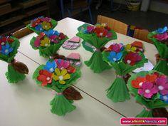 okul öncesi çiçek etkinlikleri - Buscar con Google