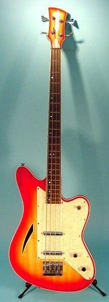 Eastwood Surfcaster Bass Guitar Musical Instrument, Musical Instruments, Vintage Bass Guitars, Fender Bass, Gallows, Guitar Collection, Double Bass, Ex Machina, Guitar Tips