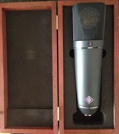 Answer me this, is it wrong I think this looks sexy? If you're a #voiceover you'll probably say no, if you're not a voice over you probably think I'm a bit strange! The legendary Neumann U87 Ai now in the studio! Http://neilwilliamsvoiceover.com
