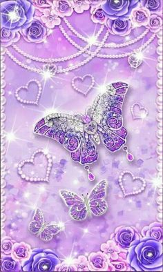Cell phone wallpapers butterfly wallpaper, cute wallpaper backgrounds и pur Bling Wallpaper, Diamond Wallpaper, Butterfly Wallpaper, Heart Wallpaper, Purple Wallpaper, Cute Wallpaper Backgrounds, Pretty Wallpapers, Cellphone Wallpaper, Galaxy Wallpaper