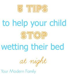 5 tips to help your child at night