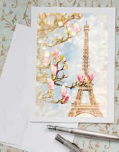 Hey, I found this really awesome Etsy listing at https://www.etsy.com/listing/156075765/paris-photo-notecard-eiffel-tower-with