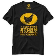 Glenn BeckGlenn Beck | Deep Fried Storm T-Shirt|Shop the Glenn Beck Official Store