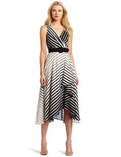 A cute, long striped dress! I don't own it, but maybe in the future? I think it's super adorable.