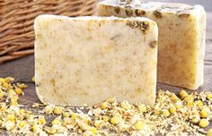 Calendula, Honey & Oatmeal Soap Recipe