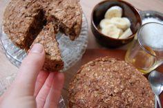 Dit simpele, maar o zo lekkere ontbijttaartje is echt een topper! Bovendien is het onwijs voedzaam en gezond. Bekijk hier het recept!