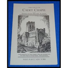 BRAND NEW RADIANT WEST POINT CADET CHAPEL GUIDE UNITED STATES MILITARY ACADEMY - $2.99