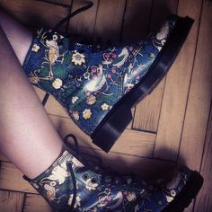 Dr. Marten x Liberty London on my feet