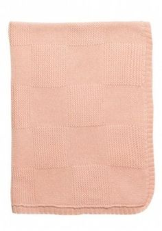 Babys knitted blanket