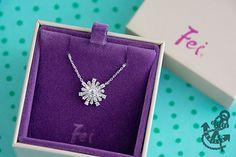 Fei Liu Fine Jewellery snowflake pendant
