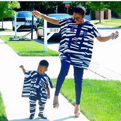 Beautiful mum and Daughter In Shweshwe Dresses for 2020 Couples African Outfits, African Dresses For Kids, African Children, African Attire, African Wear, African Women, African Fashion Ankara, Ghanaian Fashion, Latest African Fashion Dresses