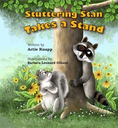 Free online animated book about a squirrel who stutters