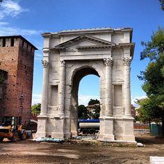 Arco dei Gavi in Verona, Veneto