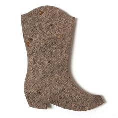 Boot 1 – (2.7″ x 3.5″) BOOT SEASON! Send some boot love with this cute seed paper shape