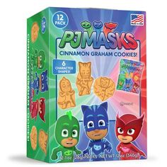 Check out PJ Masks Cinnamon Graham Cookies | Pajama Heroes party supplies for your next birthday bash from Wholesale Party Supplies from Wholesale Party Supplies