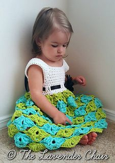 Sally's Summer Sun Dress - Free Crochet Pattern - The Lavender Chair