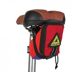 The Transition Saddle bag is perfect for the trails, road, or your favorite park. Coloraful and eye catching!