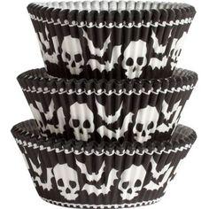 Skull Baking Cups 75ct