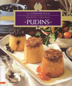 Pudins Le Cordon Bleu by sabutos yo - issuu Le Cordon Bleu, How To Cook Broccoli, Cooking Broccoli, Food Decoration, Sweet Cakes, Vintage Recipes, Sweets Recipes, Creative Food, Cooking Time