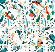 Vivid flair - pattern  by Gemma Pauwels