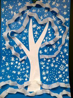 Diy Paper, Paper Crafts, Class Art Projects, Christmas Crafts, Christmas Tree, Winter Art, 4 Kids, Art Plastique, Preschool Crafts