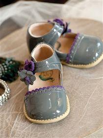 Livie & Luca - Blue Bell Shoes in Gray