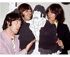In Penny Lane, there's a gallery showing Beatles photographs