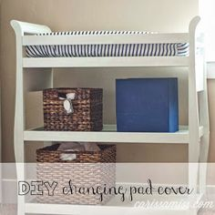 Carissa Miss: diy changing pad cover