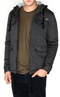 RVCA Mens : Hoodies / Fleece - Way Holmer Fleece