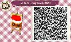 Este es un QR Code para Animal Crossing, creado por mí; como podéis observar, es un camino que tiene como estampado una galleta de jengibre. [4-9]  Lo podéis encontrar en mi canal de YouTube: https://www.youtube.com/channel/UCh6uwa2CjSgR4WQ-ghRQY6Q (Roxy).  ¡Espero qué os guste! ;)
