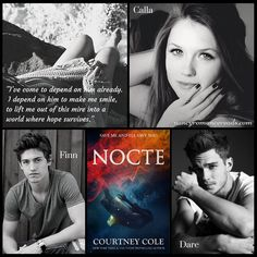 Nancy's Romance Reads: Book Review: NOCTE by Courtney Cole - Giveaway