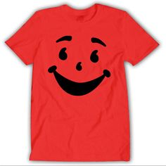 Kool Aid Face Oh Yeah Cherry T-shirt Unisex 002