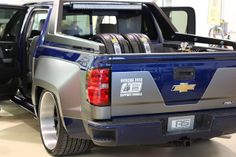 Roadster Shop chevy truck widebody brushed grey