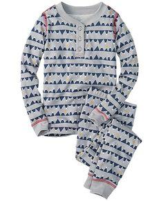Long John Pajamas In Organic Cotton | Big Brother & Sister Gifts