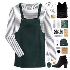 """""""SheIn 6"""" by novalikarida ❤ liked on Polyvore featuring Puma, AERIN, Diamond Supply Co., Linum Home Textiles, H&M, Casetify, Love Quotes Scarves, philosophy, Bobbi Brown Cosmetics and Eos"""