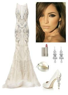 """""""An Evening Gala Fashion"""" by kotnourka ❤ liked on Polyvore featuring Rachel Gilbert, HARRIET WILDE, Ilia and Chanel"""