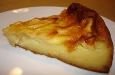 Tarta de manzana con textura flan, muy sabrosa. Ingredientes: 6 manzanas medianas 1 vaso de harina 1 vaso de leche 1/2 vaso de azúcar 1 chorrito de brandy 1 sobre de levadura en polvo 3 huevos mermelada de albaricoque o melocotón mantequilla para el molde  Preparación: Poner en el vaso de la batidora o …