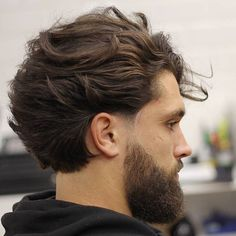 Medium length hairstyles for men - cuts, styling ideas and .- Medium-length hairstyles for men – cuts, styling ideas and tips – length cuts ideas - Medium Long Hair, Medium Hair Cuts, Long Hair Cuts, Medium Hair Styles, Long Hair Fade, Cool Mens Haircuts, Cool Hairstyles For Men, Hairstyles Haircuts, Long Wavy Haircuts