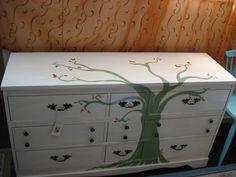 Tree dresser by Yabette for Swankety Swank.