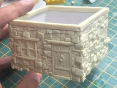 Miniature Crafts, Miniature Houses, Miniature Dolls, Diy Crafts For Gifts, Diy Craft Projects, Dnd Mini, Diy Table Top, Mini Doll House, Diy Shops