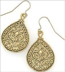 Early Islamic Earrings Syria, 8th century A.D