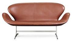 Arne Jacobsen Swan Sofa, Remodelista