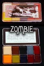 One of the best FX makeups out there, get your zombie face ON!