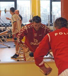 AD 2013 January siłownia – kadra Bieglera - przed New Year Cup 2013