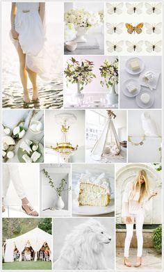 Monochromatic Monday :: The White Party