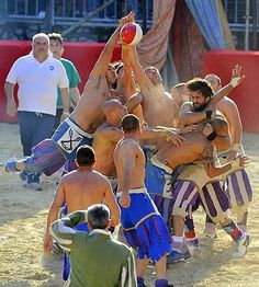 Calcio storico - Firenze (Italy). Played at least since 1490.