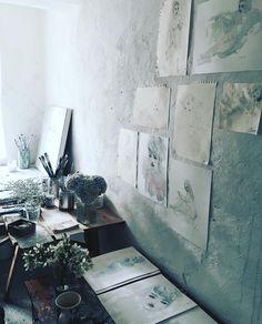 Jorunn Mulen's Studio #behindthescenes #myfloralaffair #rachelashwell #book